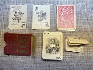 Rare Antique 1903/1904 Pit Card Game Complete First Edition