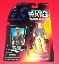 Star Wars Kenner -New Action Figure- Han Solo Hoth Gear - The Power Of The Force