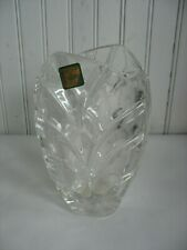 "NWOB Marquis by Waterford Crystal Palma 6 3/4"" Vase  Made in Germany"
