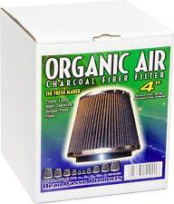"Organic Air 4"" PHAT Charcoal Fiber Filter High Flow 518 CFM The Fresh Maker $$"