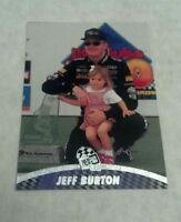 JEFF BURTON 1996 PRESS PASS NASCAR CARD