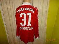 FC Bayern München Adidas Matchworn Trikot 2006/07 + Nr.31 Schweinsteiger Gr.L