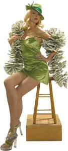 MONEY $100 BILLS BOA PIMP HOOKER COSTUME ACCESSORY RU6549