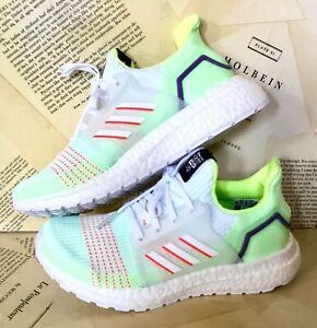Adidas Toy Story 4 Sneakers Ultra Boost Buzz Lightyear Mesh Lime White 13 K NWT