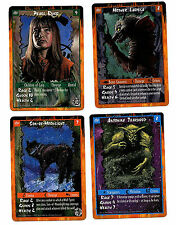 White Wolf Rage 4 Unplayed Mint Limited Edition Character Cards UD 1995 Z6