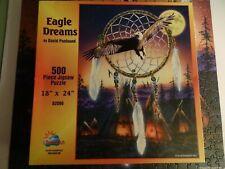 "SunsOut~ EAGLE DREAMS Jigsaw Puzzle ~ by DAVID PENFOUND ~ 500 Piece ~ 18"" x 24"""