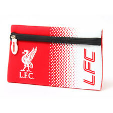 LIVERPOOL FC FADE DESIGN FLAT PENCIL CASE COVER SCHOOL UNIVERSITY NEW XMAS GIFT