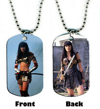 DOG TAG NECKLACE - Lucy Lawless 1 Xena Warrior Princess jewelry