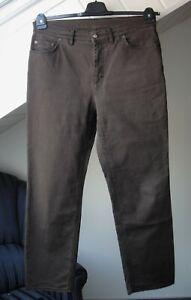 BOGNER klassische Jeans Gr.44 / US 14 braun TOPZUSTAND