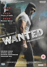 WANTED - SALMAN KHAN - AYESHA TAKIA - NEW BOLLYWOOD DVD - UK