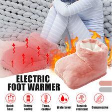 ELECTRIC HEATED FOOT COMFORT WARMER Feet Boots Slipper Tool OZ