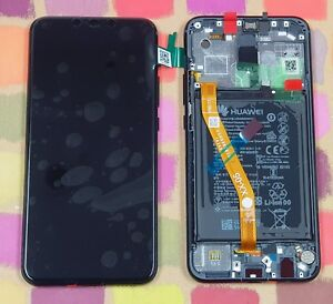 GENUINE BLACK HUAWEI MATE 20 LITE SNE-LX1 LCD SCREEN DISPLAY FRAME