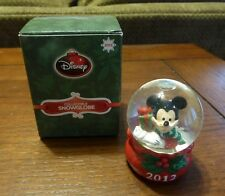 RARE 2012 Mickey Mouse Disney JCPenney Snow Globe Black Friday Christmas Holiday