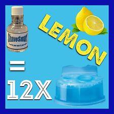 12 Lemon Braun Clean & Renew Cartridge Refills, Syncro, Activator, And Flex