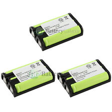 3 NEW Home Phone Rechargeable Battery for Panasonic HHR-P107 HHRP107 400+SOLD