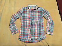 Mens Jack Wills University Outfitters Checked Casual Shirt Long Sleeve Size S