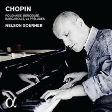 CHOPIN: 24 PR'LUDES; BARCAROLLE; POLONAISE; BERCEUSE NEW CD