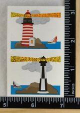 Mrs Grossman SPARKLE LIGHTHOUSE Stickers 1/2 SHEET