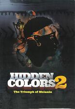 Hidden Colors 2: The Triumph Of Melanin (DVD) Brand New