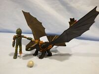 How To Train Your Dragon Night Fury Toothless  Hiccup Action Figure Play Set Toy