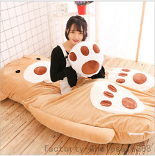 Single Bed Filled Teddy Bear Bed Carpet Large Tatami Mattress Sofa Bean Bag Gift