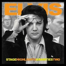 ELVIS PRESLEY - STAGE HIGHLIGHTS & RARITIES TWO -  Elvis Concert Fan Label