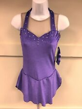 Chloe Noel Purple Sparkle Dress Adult Small
