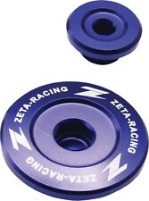 ZETA Blue Engine Plugs Kawasaki KX250F 11-17, KX450F 09-17, KLR450R 08-17