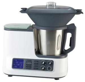 @ Küchenmaschine mit Kochfunktion, Waage, Dampfgaraufsatz, Garkorb WLAN +