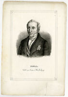 Antique Print-W. F. ROELL-PRIME MINISTER-Anonymous-ca. 1840