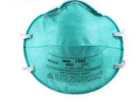 3M 1860 N95 REGULAR Health Care Particulate    Mask 120 PER CASE) FILTERS Dust