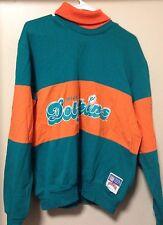 Vintage Miami Dolphins Nutmeg Sweatshirt Mens Medium 1990s