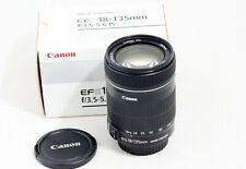 Canon EF-S 18-135mm F/3.5-5.6 IS Lens sl2 t2i t3i t4i t5i t6i 40D 50D 60D 70D 7D