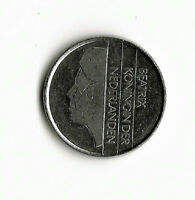 World Coins - Netherlands 25 Cents 1985 Coin KM # 204