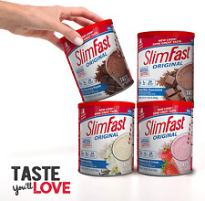 SlimFast – Original Meal  Shake Mix Powder – Weight Loss Shake Drink