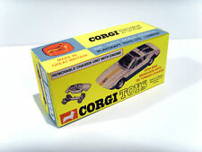 CORGI TOYS No.271 - DE TOMASO MANGUSTA. Superb custom repro / display box.