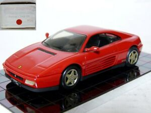 Heco 143 1/43 1989 Ferrari 348 TB Handmade Resin Model Car