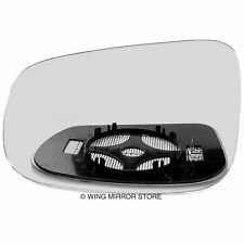 Left side for Volvo V50 2009-2012 heated wing door mirror glass
