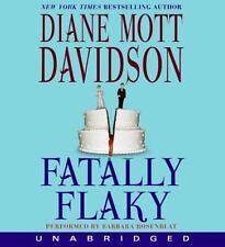 "CD Audio Book, ""Fatally Flaky""  by Diane Mott Davidson (2009, CD, Unabridged)"