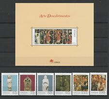[Portugal 1995 – Portuguese Expansion Art] The Souvenir Sheet and set MNH