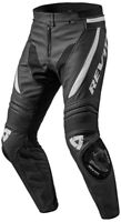 Black & white Motorbike Motorcycle Rider Leather Pant LP-033-2021 ( US 38-48 )