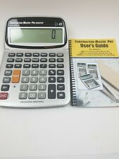 Calculated Industries Construction Master Pro Desktop Scientific Calculator Used