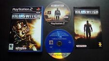 KILL.SWITCH : JEU Sony PLAYSTATION 2 PS2 (Namco COMPLET envoi suivi)