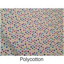 Crafts Stars & Sky Polycotton Fabric