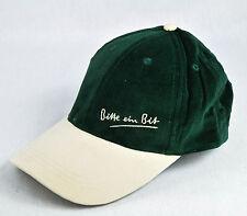 """Bitburger Bier, Baseballmütze, Mütze, Cap-Mütze """"Bitte ein Bit"""" grün / Cord"""