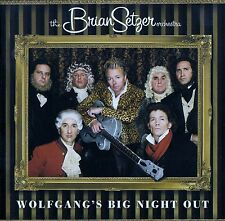 THE BRIAN SETZER ORCHESTRA : WOLFGANG'S BIG NIGHT OUT / CD - TOP-ZUSTAND