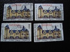 SUEDE - timbre yvert et tellier n° 2021 x4 obl (A29) stamp sweden (E)