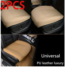 2× Luxury PU Leather 3D Full Surround Car Seat Protector Seat Cover Accessories