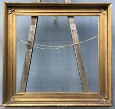 Antiker Bilderrahmen Gold um 1920 Vintage 52,5x49,1 Profilrahmen Antique Empire