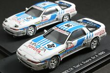 EBBRO 43822 1:43 SCALE 1990 MINOLTA TOM'S TOYOTA SUPRA JZA70 GROUP A DIE CAST